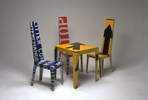 Transit Chairs & Table Set