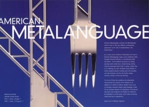 American Metalanguage