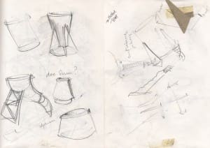 Sketches for Illusive Toast Cups
