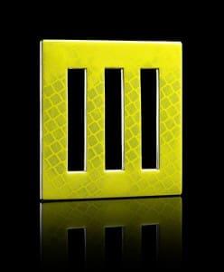 "Square ""De-SIGN' D.P.W. Brooch® series"