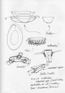 Sketch for Barnacle Bowl