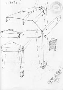 Sketch for Transit Chairs