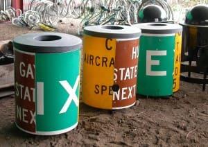 Municipal Trash Cans