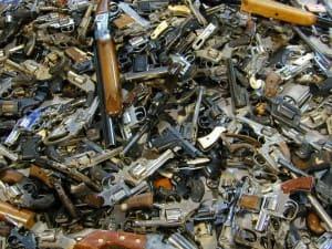 Guns from Buyback Program