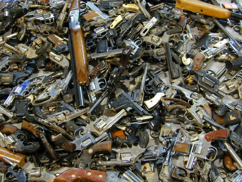 Guns from Buyback Program