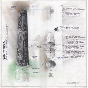 Gun Totem Sketch/ Proposal