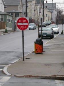 Municipal Trash Can: Gano Street