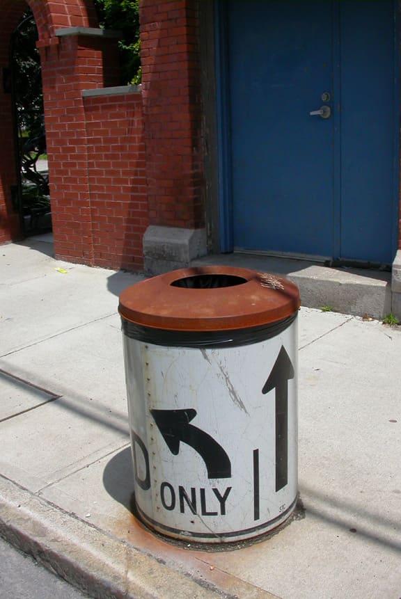 Municipal Trashcan