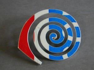 Spiral: D.P.W. Brooch®